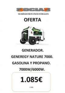 Oferta generador Genergy Nature 7000